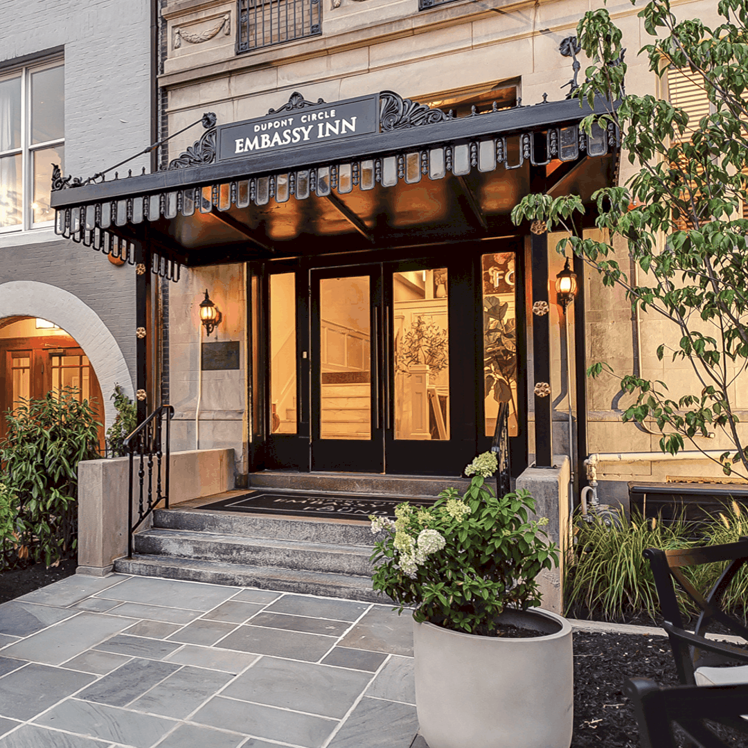 Dupont Circle Embassy Inn by FOUND Exterior
