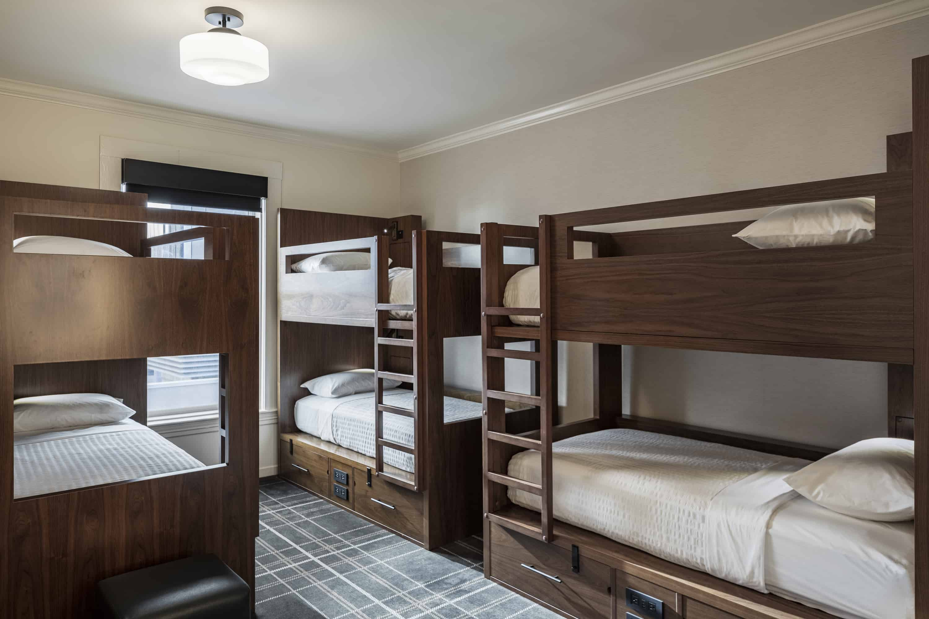 FOUND Hotel San Francisco - Room - Bed in 6 Bed Mixed Dorm Room