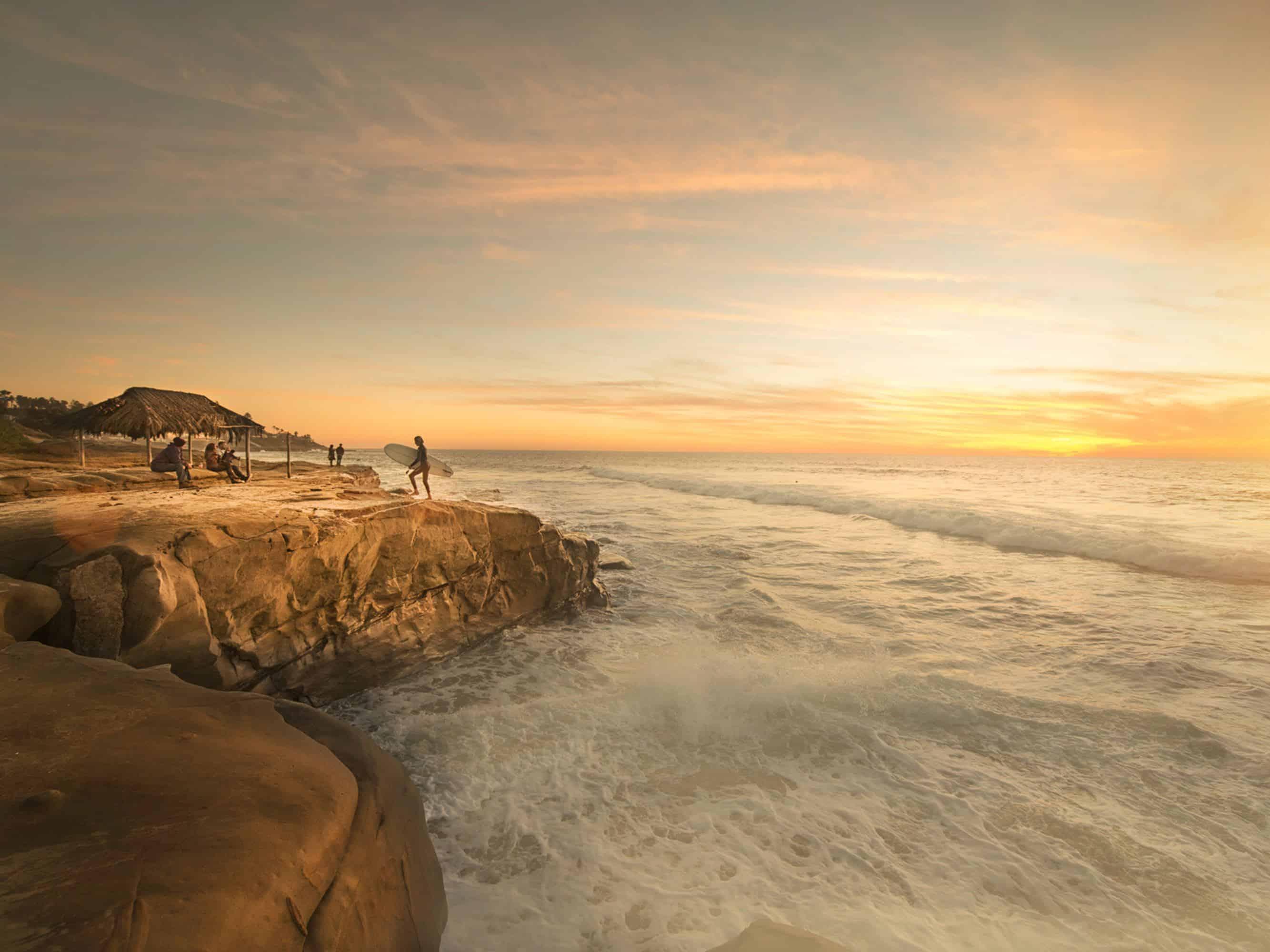 San Diego Beach Cliffs